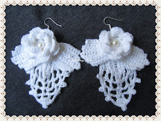 crochet ear ring