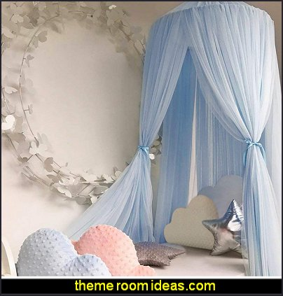Round Dome Netting Curtains Mosquito Net Bed Canopy Play Tent