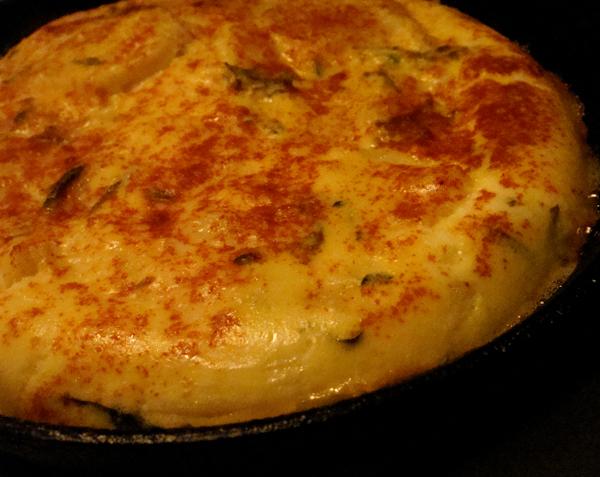 Potato Torta with Tuscan Kale and Pancetta | Bon Appetit |Potato Torta