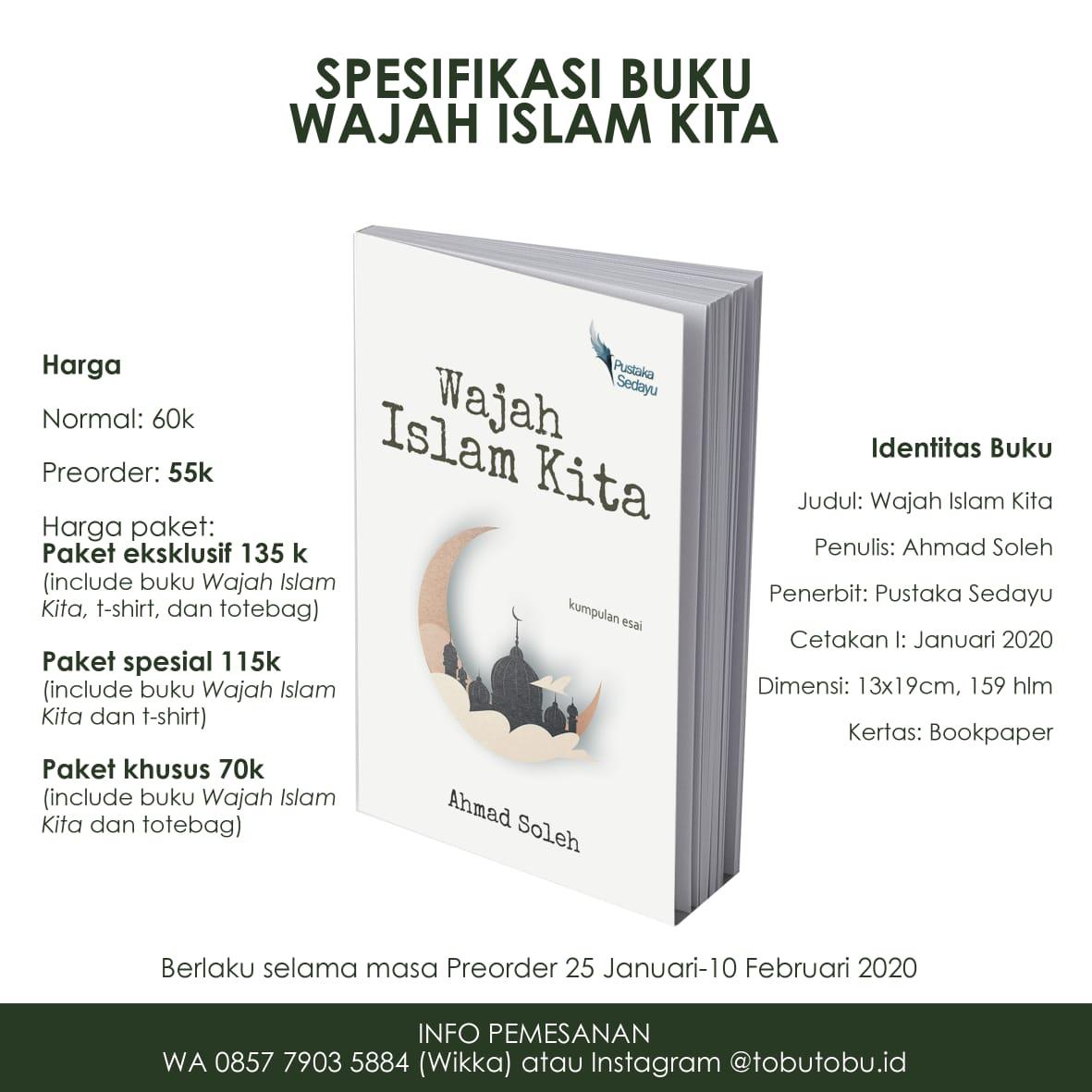 Pre-Order Buku Wajah Islam Kita Paket Satuan