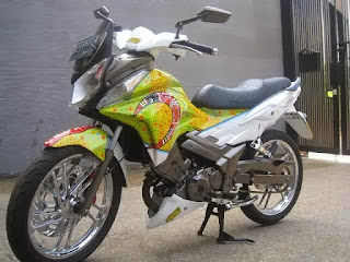 Modifikasi Motor Honda CS1