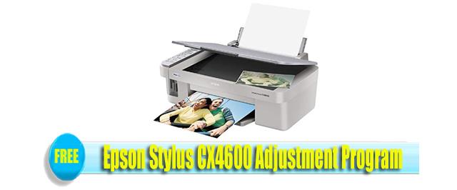 Epson Stylus CX4600 Adjustment Program