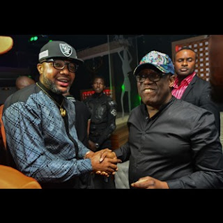 Video/Photos: Don Jazzy, E Money, 2Face, Tiwa Savage, Reekado Banks, Kcee, Joe El, others attend Kennis 104.1 FM opening party