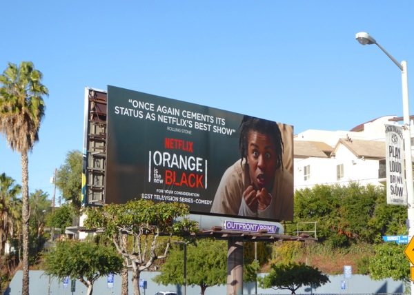 Orange is the New Black 3 Golden Globes 2016 billboard