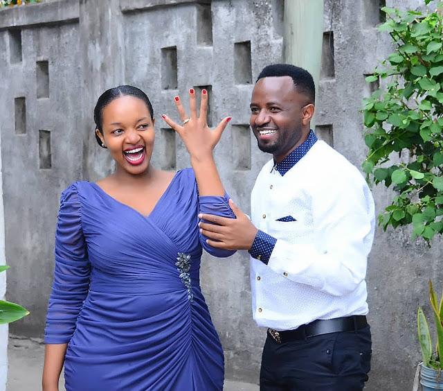 Nikki wa Pili Amvisha Pete ya Uchumba Mpenzi wake