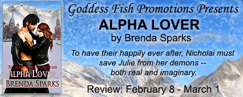 Alpha Lover by Brenda Sparks - Book Review, Excerpt & Giveaway