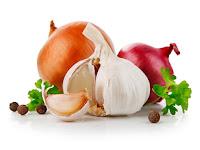Bawang merah dan putih sebagai obat kolesterol