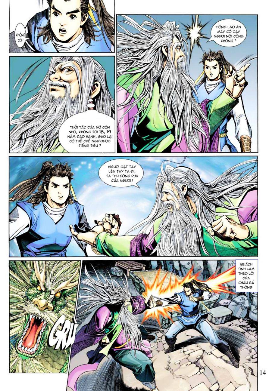 Anh Hùng Xạ Điêu anh hùng xạ đêu chap 40 trang 14