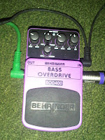 bass over drive, Behringer