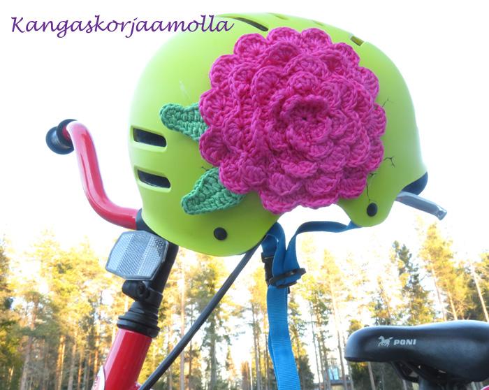 pyöräilykypärän tuunaus