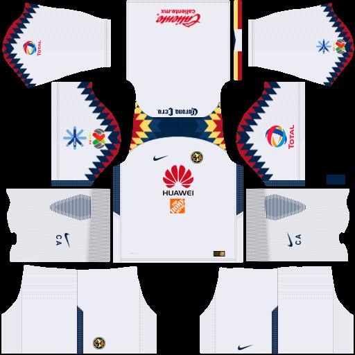 Logo del america para dream league 28 images logo for Cuarto kit del america 2018