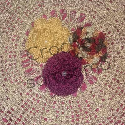 كروشيه سمسومة . طريقة كروشيه الوردة الملفوفة . Crochet Flower 3D.Crochet Flower. How to crochet a flower tutorial . كروشيه الورده الملفوفه  . بترون الوردة الملفوفة . كروشية ورود . ورود كروشيه طبقات.  طريقة عمل وردة بالكروشيه. بالخطوات والصور  وردة كروشيه طبقات . طريقة عمل وردة بالكروشيه بالتفصيل . طريقة عمل وردة بالكروشيه خطوة بخطوة.  طريقة عمل وردة الجوري بالكروشيه.  طريقة عمل وردة بالكروشيه للمبتدئين بالصور . ورود كروشية بروش .كروشيه الورده المجسمه . طريقة عمل ورده كروشيه ملفوفه .