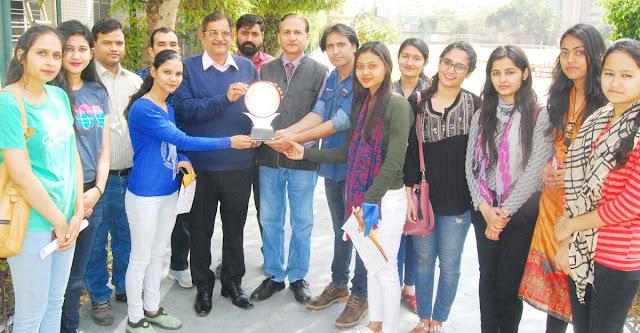 Folk Dance First in DAV Centenary College Faridabad in Inter University