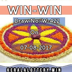 WinWin W-422 draw on 7/8/2107