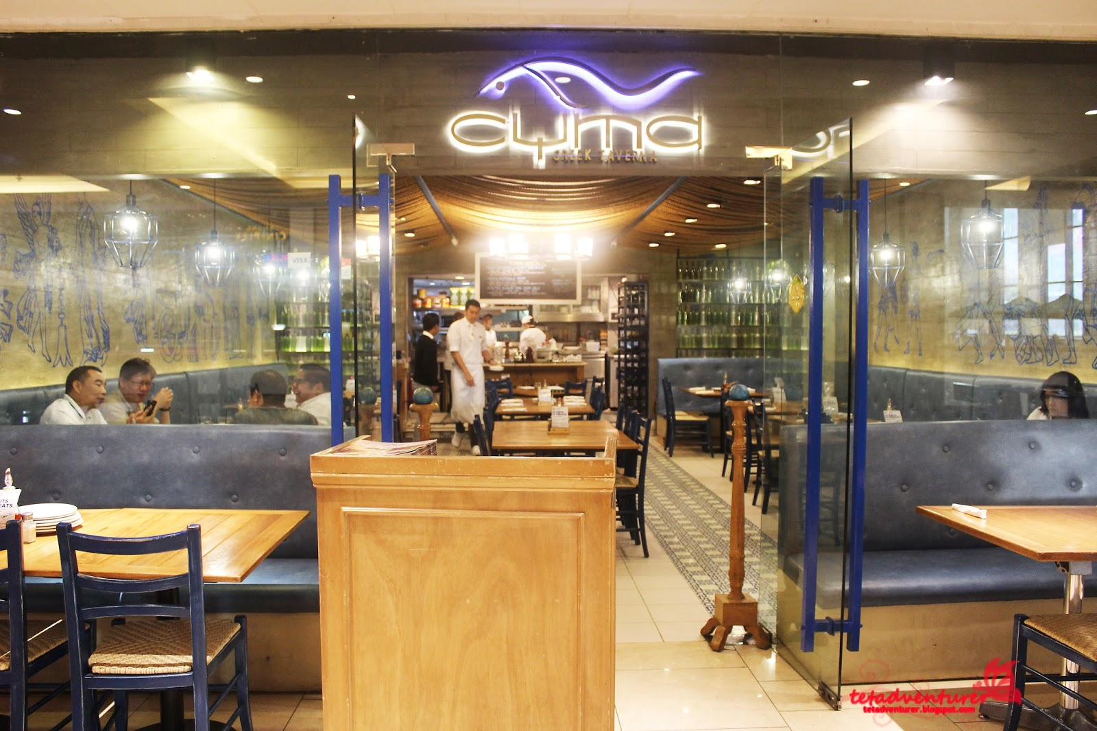 dinner at cyma When the raw products are of such flawless quality, as they are at cyma, covering them up with sauces and forceful flavours is exactly what should not be done.