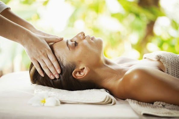 relaxation women massage spa