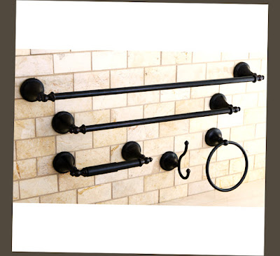 Photo for Naples Oil Rubbed Bronze 5 Piece Oil Rubbed Bronze Bathroom Accessories