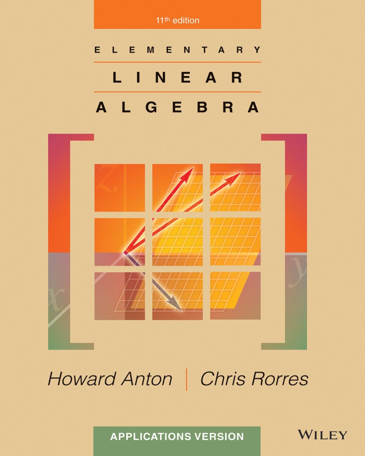 Elementary Linear Algebra (11th Edition)