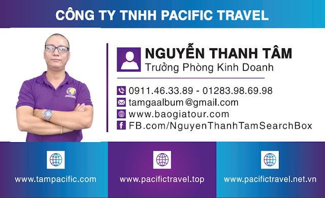 Công ty Pacific Travel cạnh tranh với các đối tác du lịch như thế nào ?