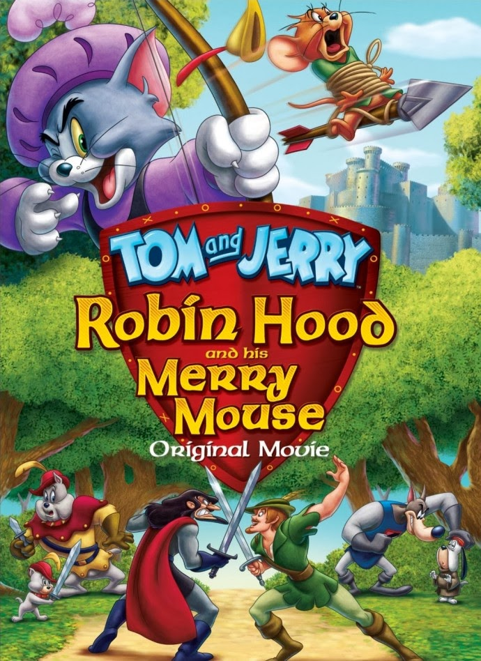 Watch Tom and Jerry Robin Hood and His Merry Mouse (2012) Full Movie Free Online