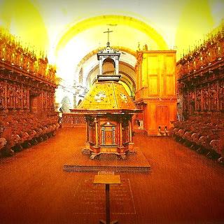 Coro da Iglesia de San Francisco, Cusco