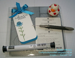 Stampin' Up! Made by Susan Simpson Independent Stampin' Up! Demonstrator, Craftyduckydoodah!, SU 1st Anniversary Gift