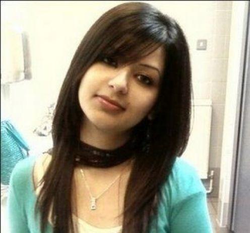 Most Beautiful Arab Girl In Black Dress In Her Bedroom