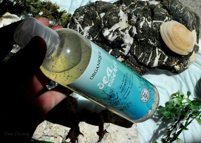 Organique Detoksykujący Żel pod prysznic Sea Essence