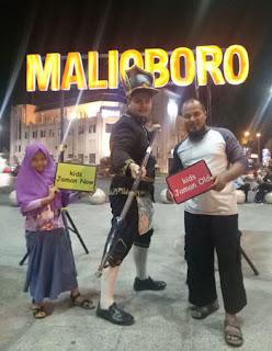 Ryan Jenggot di Malioboro, Jogyakarta