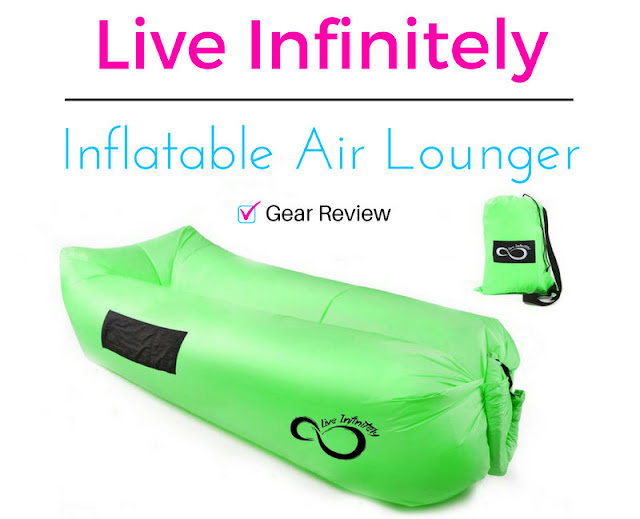 Live Infinitely Inflatable Air Lounger Gear Review, Best Air Lounger on Amazon