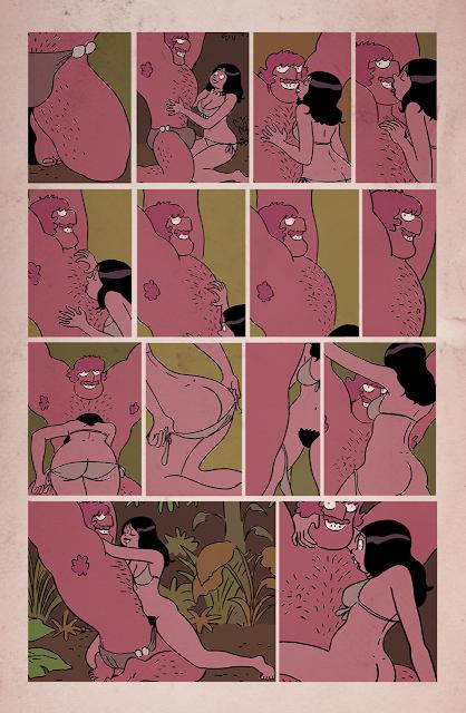 shoo bop Melvin comic Artur Laperla