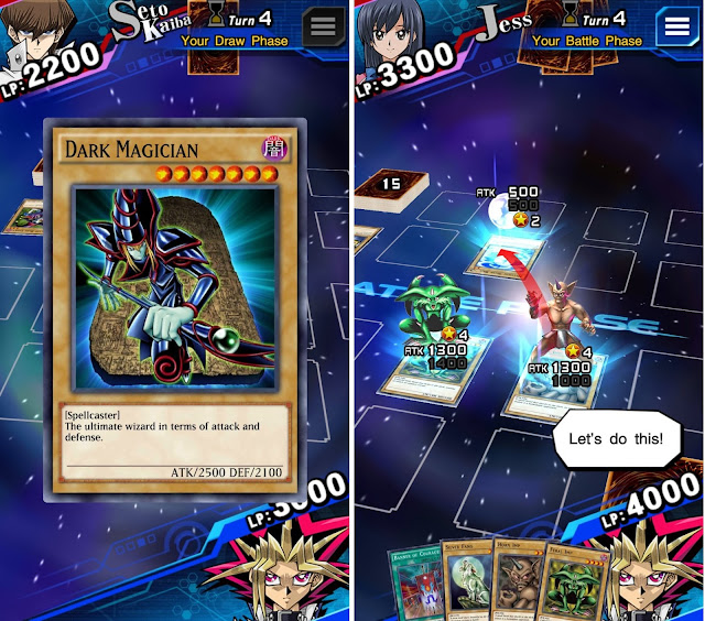 Screenshot Yu Gi Oh! Duel Links
