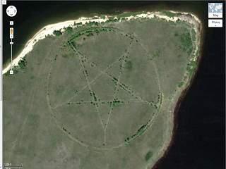 kazakhstan pentagram