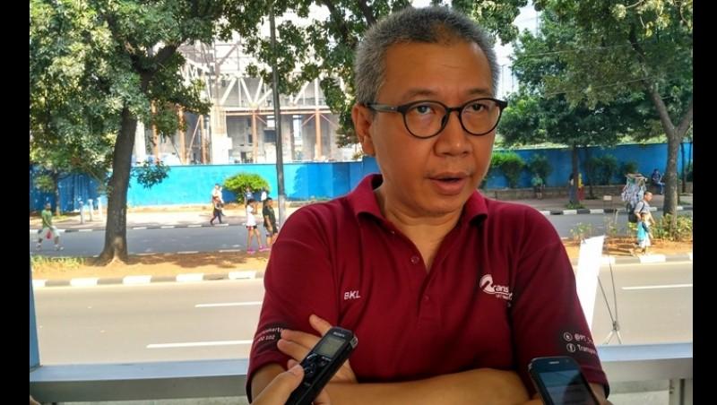 Direktur Utama Transjakarta Budi Kaliwono