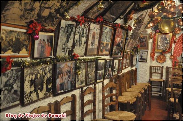 Zambra de María la Canastera, en el Sacromote de Granada
