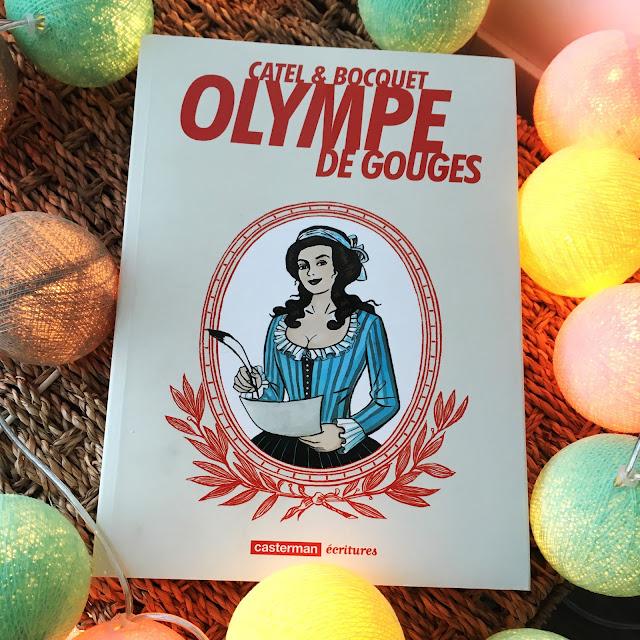 Chronique littéraire Olympe de Gouges par Mally's Books