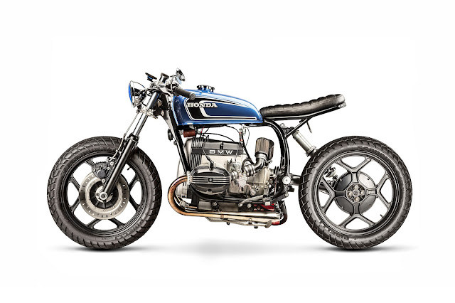 BMW R80RT By Tattoo Projects Hell Kustom