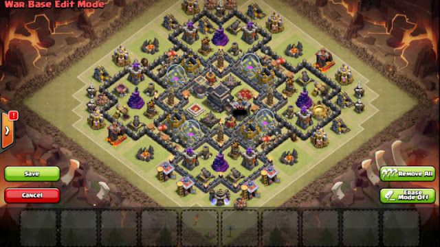Base War Th 9 Paling Susah Ditembus 2019 5