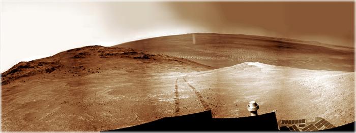redemoinho em Marte