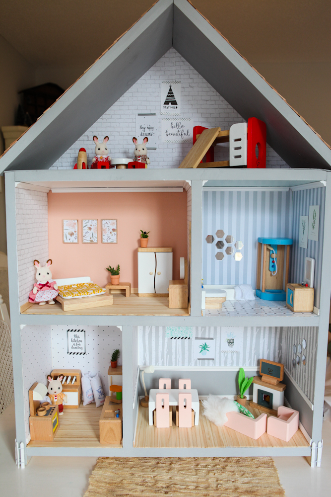 Elm street life a dollhouse for lane eliette for Young house love dollhouse