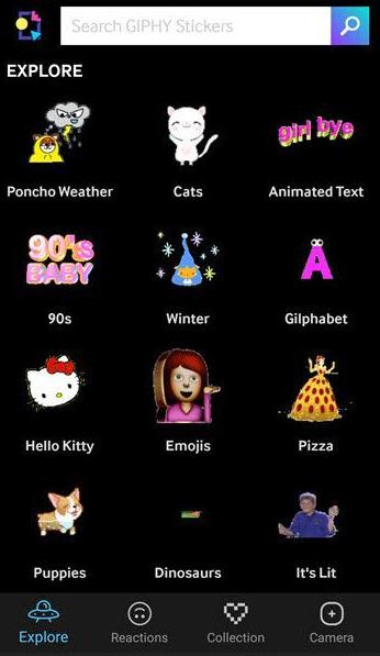 Aplikasi GIPHY