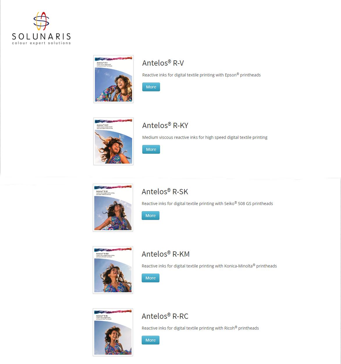 Source Solunaris Reactive Inks Antelos R Km