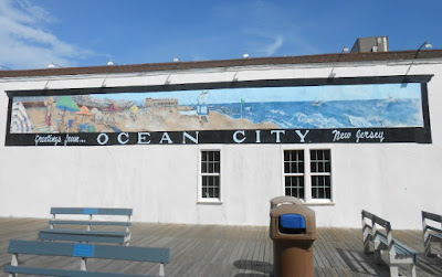 Ocean City New Jersey Wall Mural by Artist David Gilhooley