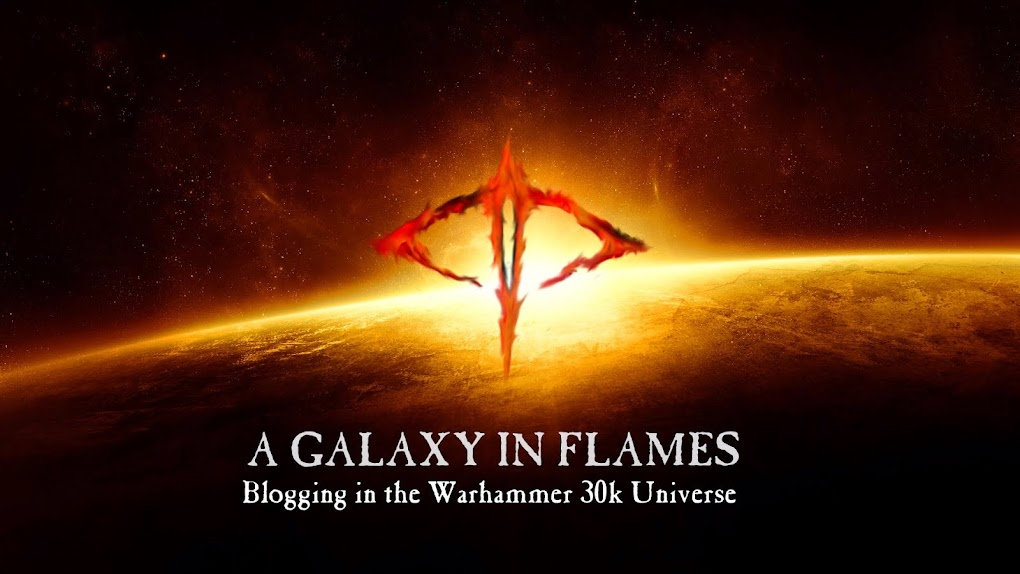 A Galaxy In Flames