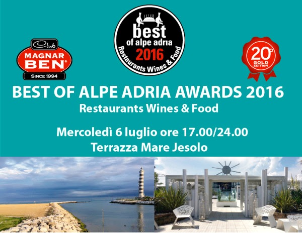 Best of Alpe Adria Awards 2016
