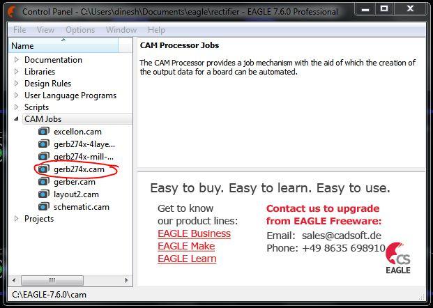 gerber files generation Cadsoft Eagle - NERD SCHOOLS