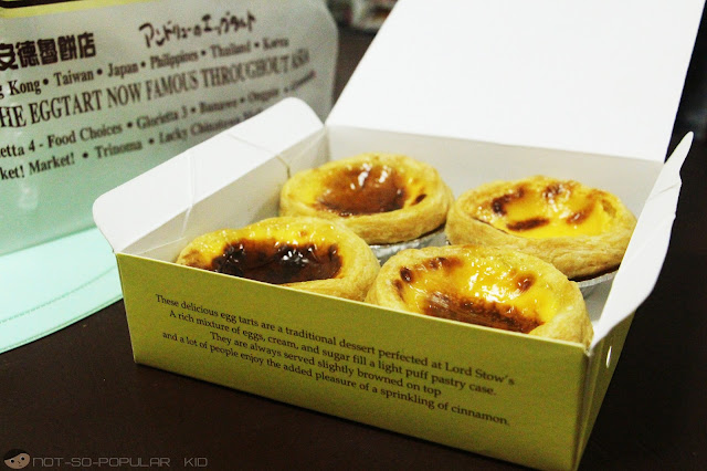 Warm and Fresh from the Oven: Lord Stow's Egg Tarts