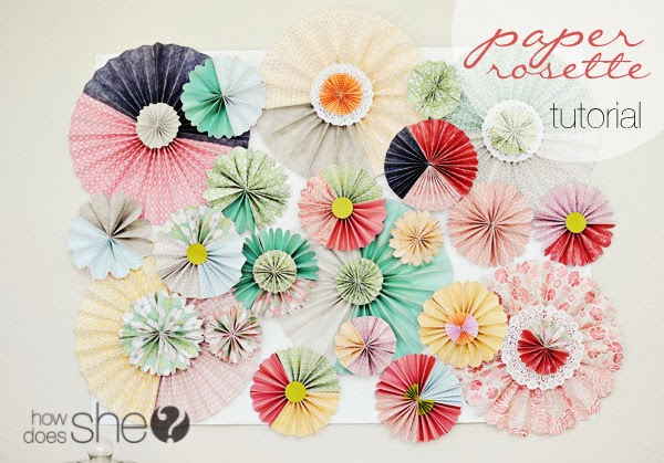 Diy party decoration, scrapbooking para decorar paredes de fiestas