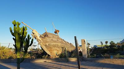 nave abbandonata