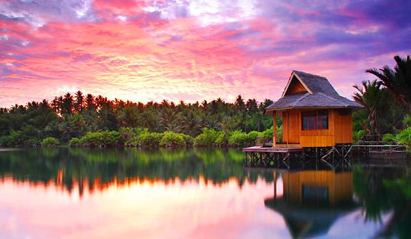 Keindahan Pulau Halmehara Maluku Utara